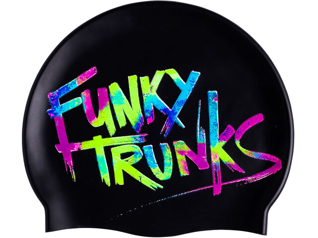 Funky Trunks Silicone badmuts Heren zwart